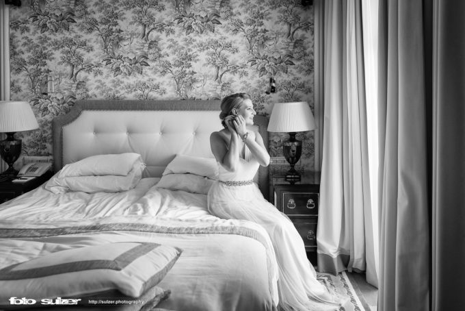 Hochzeitdfotograf Salzburg - Hotel Sacher - Getting Ready - Roland Sulzer