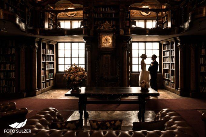 Hochzeit Schloss Leopoldskron Salzburg Paarshooting